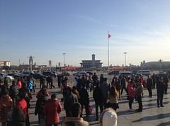 Tiananmen Square on the day the China Leadership Change (brianburk9) Tags: tiananmensquare beijingtripmarch2013