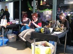 Botanica Mathematica at Edinburgh's first  Maker Faire (MadeleineS) Tags: trees festival edinburgh craft science international textile faire maker botanica reactor mathematica summerhall botanicamathematicamakerfaire