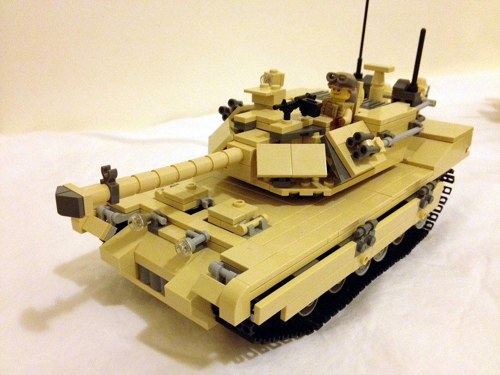 153416516f76 The other M1A1 (jskaare) Tags  soldier tank desert lego military camouflage  bradley custom