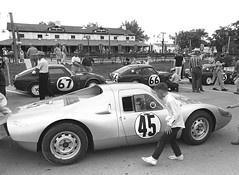 Tech inspection at Sebring 1965 (Nigel Smuckatelli) Tags: auto classic cars race speed vintage classiccar automobile florida racing prototype porsche hour passion legends vehicle autoracing 12 sebring sir endurance motorsports fia csi sportscar 1965 wsc heures world sportauto autorevue historic porsche904gts championship raceway louis sebringinternationalraceway sebringflorida 1965 georgebarber petergregg legends gp oldtimersport histochallenge manufacturers gp sebring motorsports nigel smuckatelli galanos manufacturers the12hourgrind