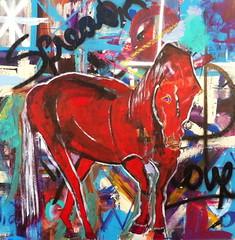 Adam_Brett_Horse (adambrettart) Tags: original abstract beach paintings jacksonville fluidity adambrett