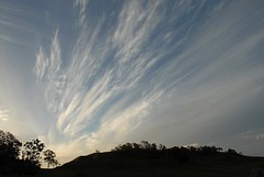 Tunstall's Gap (dustaway) Tags: sunset sky silhouette clouds landscape australia nsw eveningsky cloudscape cirrus northernrivers