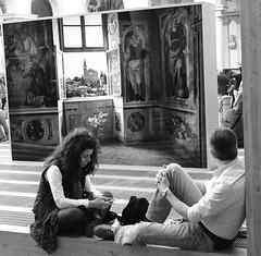 (Mario Oreste) Tags: street city travel people urban blackandwhite bw italy holiday monochrome photography flickr italia candid milano streetphotography bn viaggi biancoenero vacanze streephotography