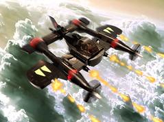 P-64d DRAGONHAWK (nate_decastro) Tags: lego scifi moc skyfi shmup dieselpulp