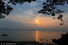 (manwar2010) Tags: india art nature water sunrise river geotagged asia flickr you tag geo geotag ganga manwar uluberia googlechrome