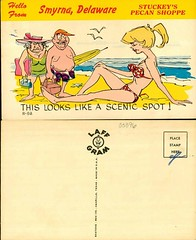 Hello from Smyrna Delaware, Stuckey's Pecan Shop (Delaware Public Archives) Tags: ocean sea woman man beach water girl sand sunbathing bathingsuits