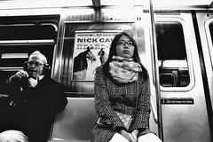 Heard New York (omoo) Tags: newyorkcity bw girl asian manhattan pipe streetscene mta smoker nickcave prettygirl heard subwaycar pipesmoker bwphotograph goinguptown dscn0822 nickcaveheard manwithheadphonescleaninghispipe headingtochristopherstreet heardnewyork