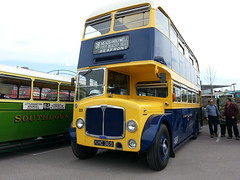 Eastbourne Corporation (PD3.) Tags: bus buses museum vintage 40th sussex spring coach anniversary surrey east corporation gathering trust eastbourne april cobham 40 annual preserved 69 80 regent lt preservation psv pcv brooklands lancs 369 aec wisely khc 2013 lt80 khc369 lbpt 2013