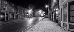 Bakewell - Matlock Street (Regular Rod) Tags: street blackandwhite panorama 120 film monochrome night holga derbyshire peakdistrict ilfordhp5 bakewell array alltheworldsastage semistand 6x12 holgaheads ysplix pyrocatechol catechol obsidianaqua holgagon schneiderkreuznachangulon90mm filmdev:recipe=8946