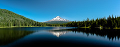 Mt. Hood as seen from Trillium Lake, Oregon. (LKungJr) Tags: trilliumlake mthood oregon nature reflections