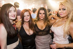 (S P A C E S A R E O K) Tags: belfast northernireland cleavage party girls bbw midriff sheer breasts