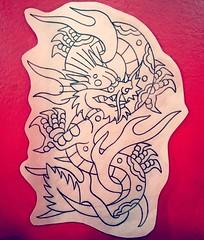 dragn (Yael Bobbio) Tags: tattoo tattooflash tattoos tattooing classictattoos classictattooing illustration traditionaltattoos traditionaltattoo flash dibujo draw dibujos drawing design diseo