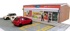 One Stop Shop (kingsway john) Tags: kingsway models card kit building oogauge model shop local convenience store uk onestopshop