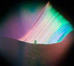 Torre del Rayo (III), Carboneras. Almera (Solarigrafa / Diego Lpez Calvn) Tags: solarigrafa solarigraphy solargrafa solargraphy pinholephotography lensless estenopeica longexposure largaexposicin torredelrayo carboneras almera cabodegata cielo sky atmsfera clima climate proyectosolaris proyectosolarigrafa caminosdelsol suntrack suntrail sol sun astronoma cienciayarte visualart astroart