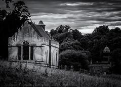 Church of St Andrew Wheatfield (Stuart Feurtado) Tags: oxon silverefex landscape monochrome church stainedglasswindow blackandwhite thechurchofstandrewwheatfield nik d810 nikon oxfordshire