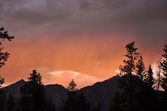 Sunset (Just Peachy!) Tags: alberta jaspernationalpark canadianrockies