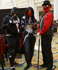 S.F. Comic Con 09-05-16_00640 (Large) (ckgee95148) Tags: sanfranciscocomiccon2016 marriot marquis hotel spiderwoman black widow deviant 24september2016 september24 2016 san francisco comiccon anime cosplay comic con comiccon2016 comicconcomiccon2016