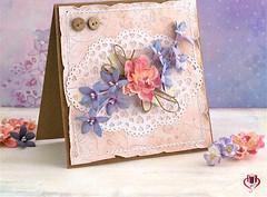 Trang tr thip, hp qu tng m bng hoa giy n gin (quatangthuongyeu) Tags: lm qu handmade gift