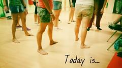 Today is... (PhoebeZu) Tags: igphotochallenge legs todayis rehearsal peterpan augustbreak2016 dance dancing dancer feet associazionelaformica augustphotochallenge