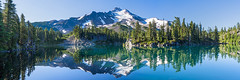 When Time Stands Still (Tom Fenske Photography) Tags: jefferson panorama water wet reflection mountain lake nature wilderness day outdoors