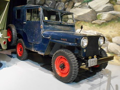 1947 Willys-Overland CJ2A (splattergraphics) Tags: 1947 willysoverland willys cj2a jeep 4x4 earlyoffroaders exhibit museum aacamuseum antiqueautomobileclubofamerica hersheypa