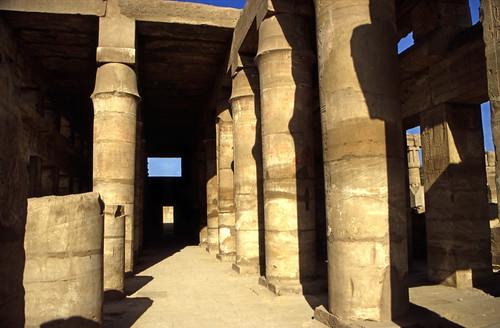 "Ägypten 1999 (338) Karnak-Tempel: Akh-menu des Thutmosis III. • <a style=""font-size:0.8em;"" href=""http://www.flickr.com/photos/69570948@N04/29055871881/"" target=""_blank"">View on Flickr</a>"
