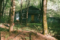 Deserted camp (Katharina Berliner) Tags: desertedplace place oldcamp camp ussr moscow