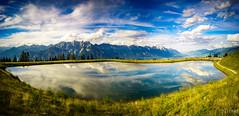 Alpine Mirror (JTrojer) Tags: muttereralm tirol see austria mountain mutters innsbruck trojer alps alpen austrianalps