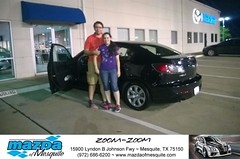 #HappyAnniversary to Arthur and your 2012 #Mazda #Mazda3 from Everyone at Mazda of Mesquite! (Mazda Mesquite) Tags: mazda mesquite texas tx sportscars sporty dallas dfw metroplex automotive luxury new used preowned vehicles car dealer dealership happy customers truck pickup sedan suv coupe hatchback wagon van minivan 2dr 4dr bday shoutouts