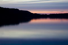 Lime Lake Water Colors (matthewkaz) Tags: sunset sky clouds limelake lake water reflection reflections silhouette maplecity cedar leelanaucounty michigan 2016