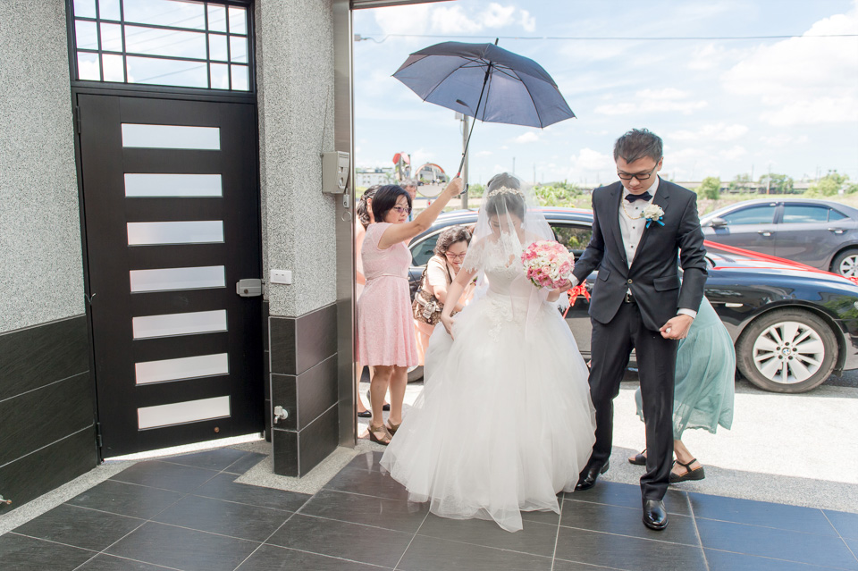 台南婚攝 情定婚宴城堡永康館 婚禮紀錄 C & V 088