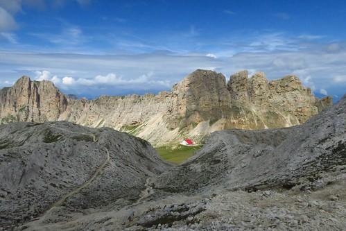 Day 2: Rifugio Bolzano to Rifugio Vajolet