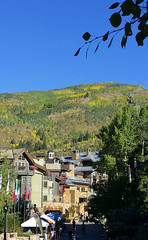 Vail, Colorado 9.18.16 (Dullboy32) Tags: dullboy32 fall leaves colorado yellow fallleaves aspens trees outdoors view vailcolorado vail skiing resort skiresort roadtrip