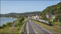 16 augustus 2016 - BayernBahn 151 119 - Linz am Rhein (EnricoSchreurs) Tags: bayernbahn br151 151 119 ketels 95524 trein train zug railway spoor track linz am rhein rheinstrecke duitsland deutschland augustus august 2016 canon eos 6d