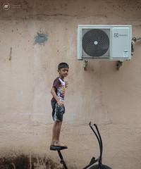 Screw the Trainer (Sid da' Cool) Tags: ac cardio exercise kid virar maharashtra india in