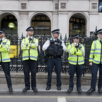 "UK police officers<a href=""http://www.flickr.com/photos/28211982@N07/29808396926/"" target=""_blank"">View on Flickr</a>"