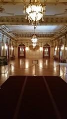 Grand Ballroom (Terry Hassan) Tags: usa florida miami palmbeach flaglermuseum whitehall mansion museum grand ballroom hall room chandeliar