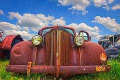 Rusted Car (Eric B. Walker) Tags: car photoshop farm rusty rusted delaware photomatix promotecontrol premierehdr