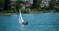 Dangling on the edge (Sivakumar Kandasamy) Tags: germany sail bodensee lakeconstanse