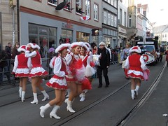 Karnevalsumzug 2013 in Erfurt (Tobi NDH) Tags: carnival girls people germany fun deutschland thringen boots erfurt skirt thuringia streetphoto umzug garde karneval tanzmariechen karnevalsumzug strasenkarneval peopleonpath nrrischesaltstadtfest 38erfurterfestumzug