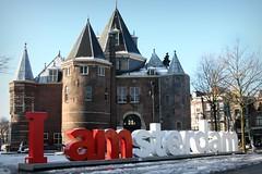 Nieuwmarkt (Iam Marjon Bleeker) Tags: holland amsterdam iamsterdam nieuwmarkt dewaag winterinamsterdam nieuwmarkt2013022g