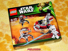 LEGO STAR WARS 75000 (COLLECTOR FIGURES) Tags: star lego troopers collection vs wars clone 75000 2013 droidekas