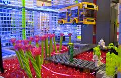 Alien Garden (Imagine) Tags: lego alien scifi hover cowlug imaginerigney railsontherockies