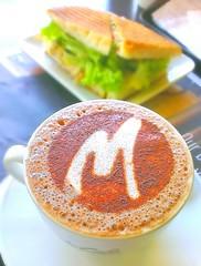 Handphone Shot ~ HTC One X ~ MacCafe Latte (Justintimett) Tags: food coffee colors one x mobilephone latte handphone mccafe htc flickrandroidapp:filter=none