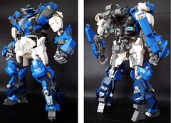 BLUE ROSE (torokimasa) Tags: original robot lego action mecha robo moc
