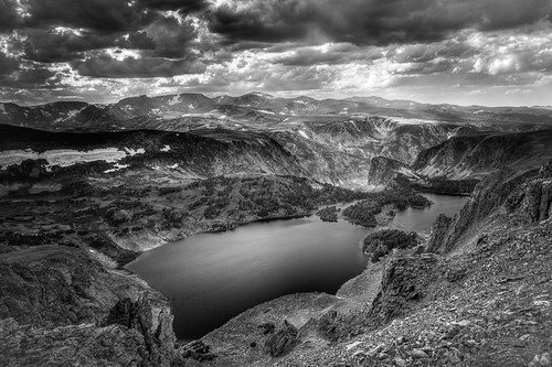Twin Lakes on the Beartooth Highway / Beartooth Pass - Montana, USA