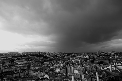 Lisboa and the storm ©  Still ePsiLoN