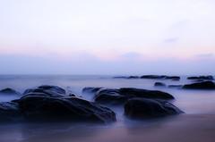 Sleeping Beauty (Madhusudanan Parthasarathy) Tags: longexposure morning blue india beach clouds sunrise nikon flickr day cloudy explore chennai kovalam cwc icapture nikor 2013 slowshutters d5100 chennaiweekendclickers
