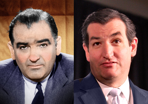 Joe McCarthy - Ted Cruz. What you get when you search on Flicker for .Sen. Joe McCarthy..