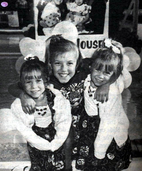 Mary-Kate & Ashley Olsen with Jodie Sweetin
